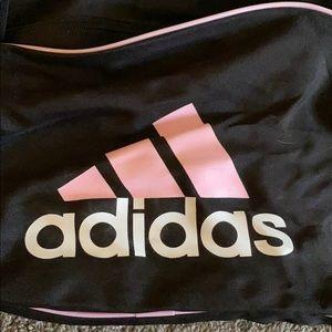 Adidas softball bag w/ batting gloves